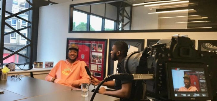 BCOMS Question Time Sits with COPA 90's Poet